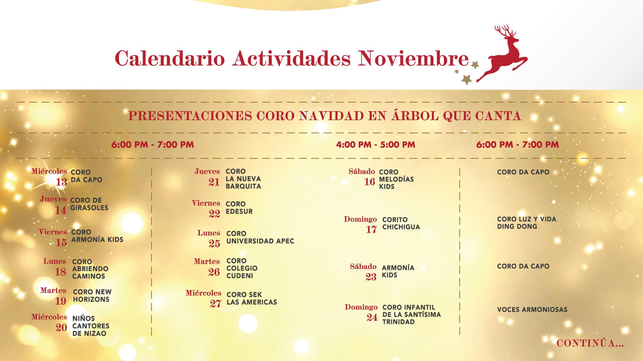 Calendario #1